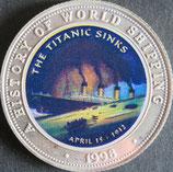 ソマリア連邦共和国銀貨 西暦1998年