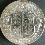 イギリス銀貨 西暦1917年