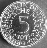 ドイツ銀貨 西暦1971年
