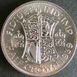 イギリス銀貨 西暦1939年
