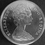 カナダ銀貨 西暦1965年