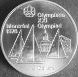 カナダオリンピック記念銀貨