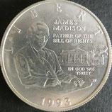 権利章典記念1/2ドル 西暦1993年