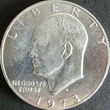 アイゼンハワー銀貨 西暦1973年