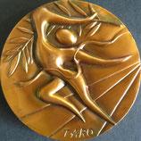岡本太郎作オリンピック記念メダル