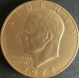 アイゼンハワー記念貨  西暦1972年
