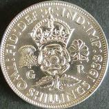 オーストラリア銀貨 西暦1938年