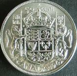 カナダ銀貨 西暦1943年