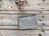 Grande pochette coton et lainage