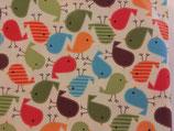 Kinderwagenmuff mit Vögelchen