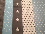 Patchwork hellblau-grau oder hellblau-braun