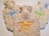 Teddyfell-Wärmflasche klein