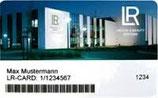 LR Vorteilskarte für den Warenkorb