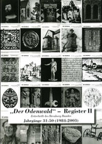 REGISTER II DER JAHRGÄNGE 31 - 50 (1984-2003)