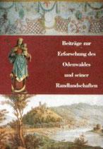 Beiträge zur Erforschung des Odenwaldes und seiner Randlandschaften V