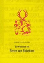 Zur Geschichte der Herren von Hirschhorn