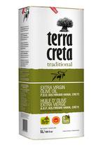 001 Testsieger Terra Creta Olivenöl Extra Native im praktischen Vorratskanister