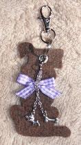 Schlüsselanhänger 'Hund'