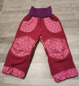 "Softshellhose ""Pink dots"" in Gr. 86/92"