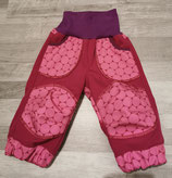 "Softshellhose ""Pink dots"" in Gr. 74/80"