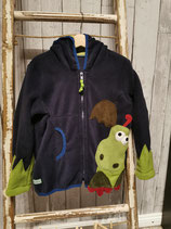 "Fleecejacke ""Drache"" in Gr. 98/104"