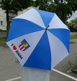 I love Dübi - Regenschirm