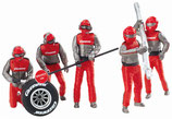 Figurensatz Mechaniker Rot Artnr. 21131