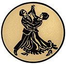 """A2.30 - Emblem """"Tanzen"""" Ø 50mm"""