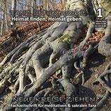 """Heft 1-2019 """"TANZ IST FRIEDENSARBEIT ... Heimat finden, Heimat geben"""""""
