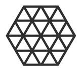 Tischschoner 'Triangles'