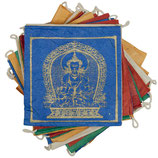 PAPER PRAYER FLAG CINQ BOUDDHAS - TIBET COLLECTION