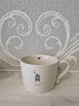 Kaffee Tasse let`s stay home        Bastion Collection
