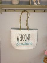 "Korbtasche ""Welcome Sunshine"""