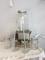 Getränkespender inkl. 4 Gläser