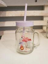Henkel Flamingo Glas