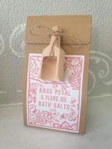 Badesalz Rose Petal und Ylang oil Salts