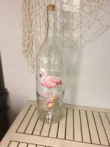 """Zapfhahnflasche """" Flamingo """""""