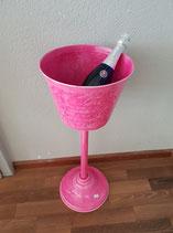 Wein/Sektkühler rosa