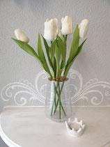 Vase mit abnehmbarem Aufsatz hoch
