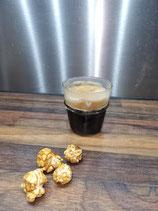 Espresso glas  mit weissem Herz     Bastion Collection