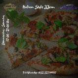 Pizza Spinat (vegetarisch)