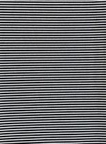Mund-Nasenbedeckung schwarz-weiß gestreift