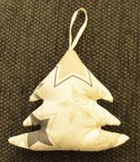 Weihnachtliches Bäumchen creme braun