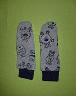 Handschuhe Monster/dunkelblau lang Gr. 3