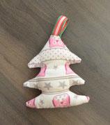 Weihnachtliches Bäumchen rosa Eulen