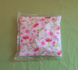 Kirschkernkissen Blumen/pink mit Hülle