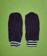 Handschuhe Strick lila/gestreift Gr. 2