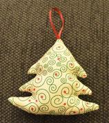 Weihnachtliches Bäumchen rot-grün