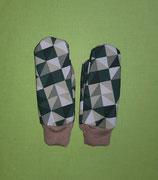 Handschuhe grüntöne/taupe Gr. 0