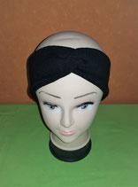 Stirnband schwarz KU 55cm